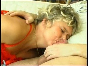Rough wake up sex for russian mama