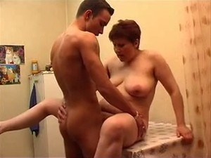 Russian MILF and guy - 24