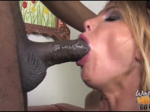 Mature slut mother Taylor fucked by black in front of son